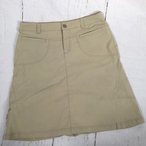 Athleta Khaki Skirt! Size 8